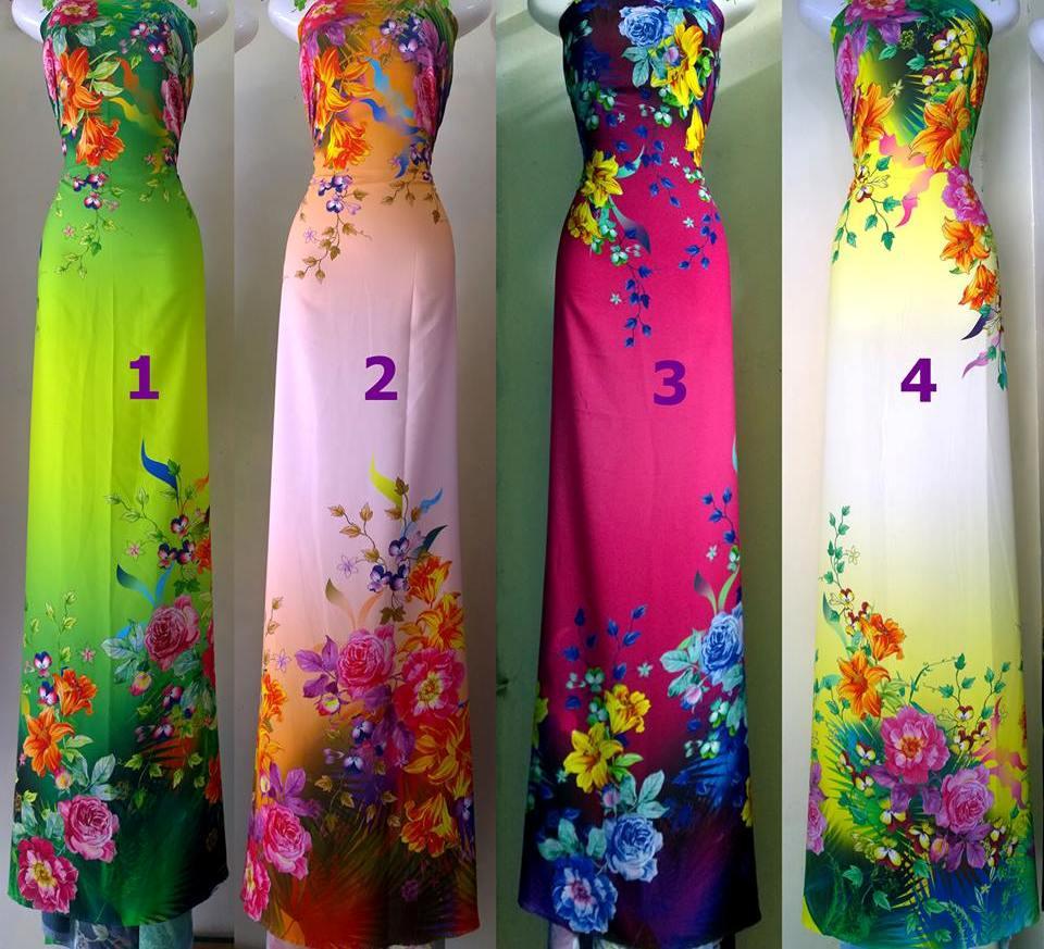 vải áo dài loại 5
