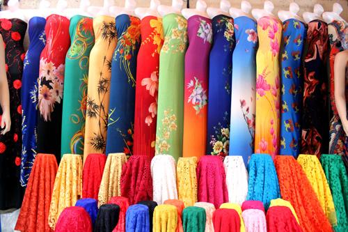vải áo dài loại 6