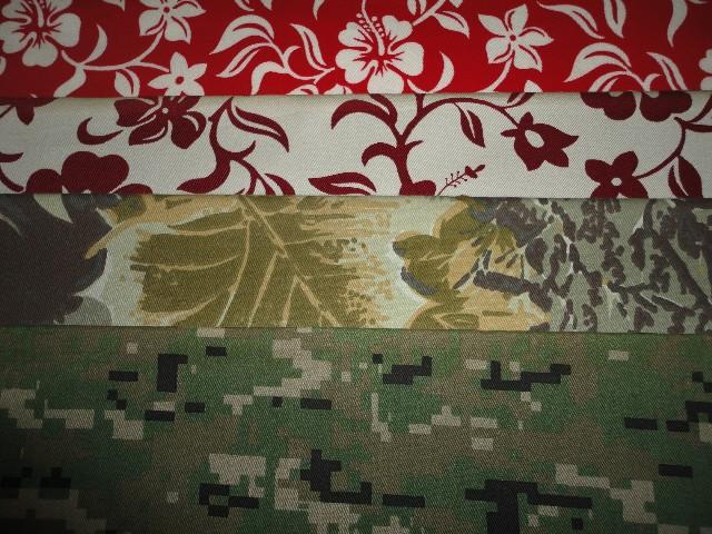 vải cotton in hoa văn loại 1