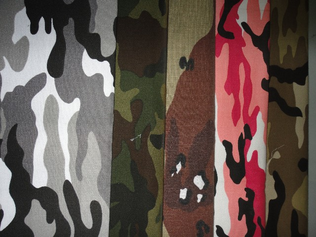 vải cotton in hoa văn loại 2