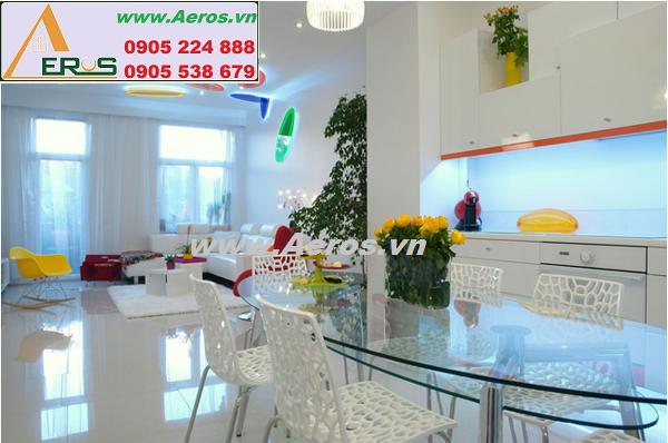 Thiết kế nội thất chung cư đẹp với cách bố trí độc đáo
