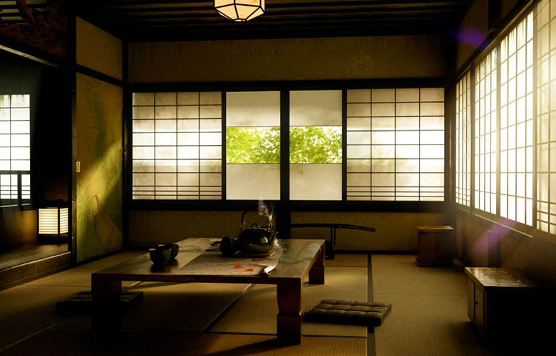 Thiết kế phòng trà đạo mang nét đẹp Nhật Bản