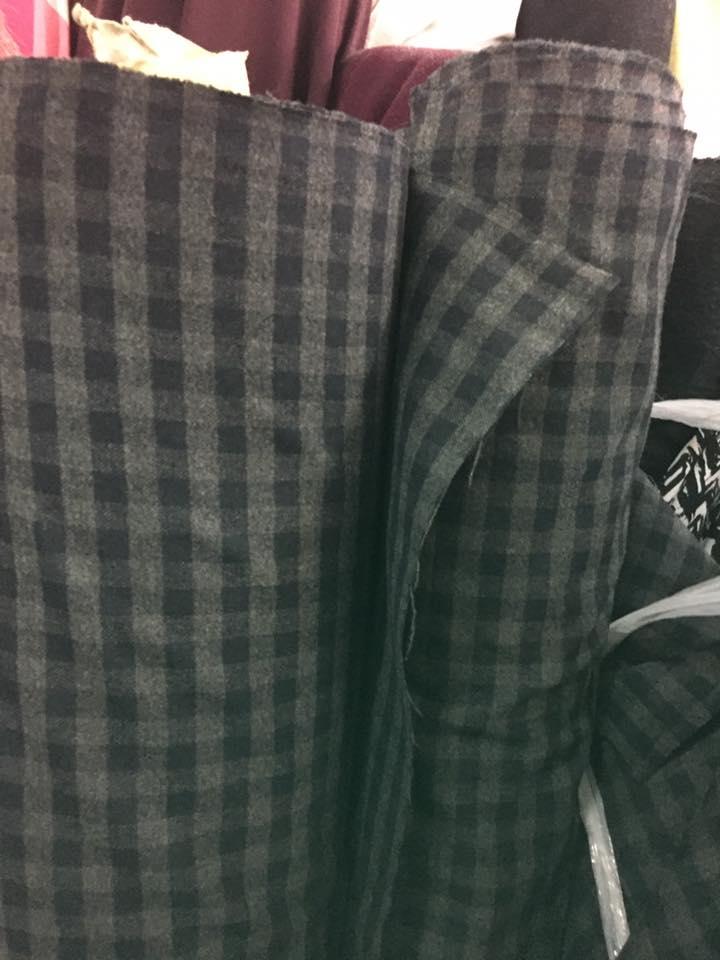 Vải Bố Thời Trang - Bố Sọc VBS01
