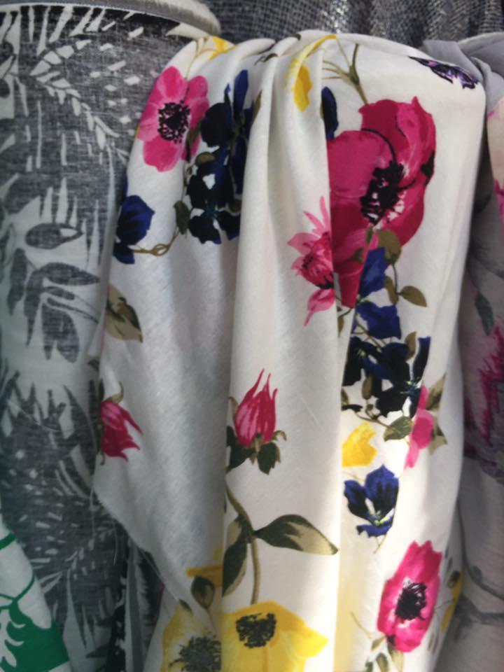 Vải Thời Trang Kate Bông VKTH01