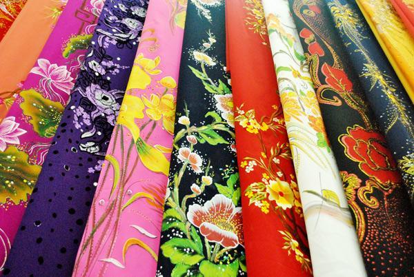 vải áo dài loại 2